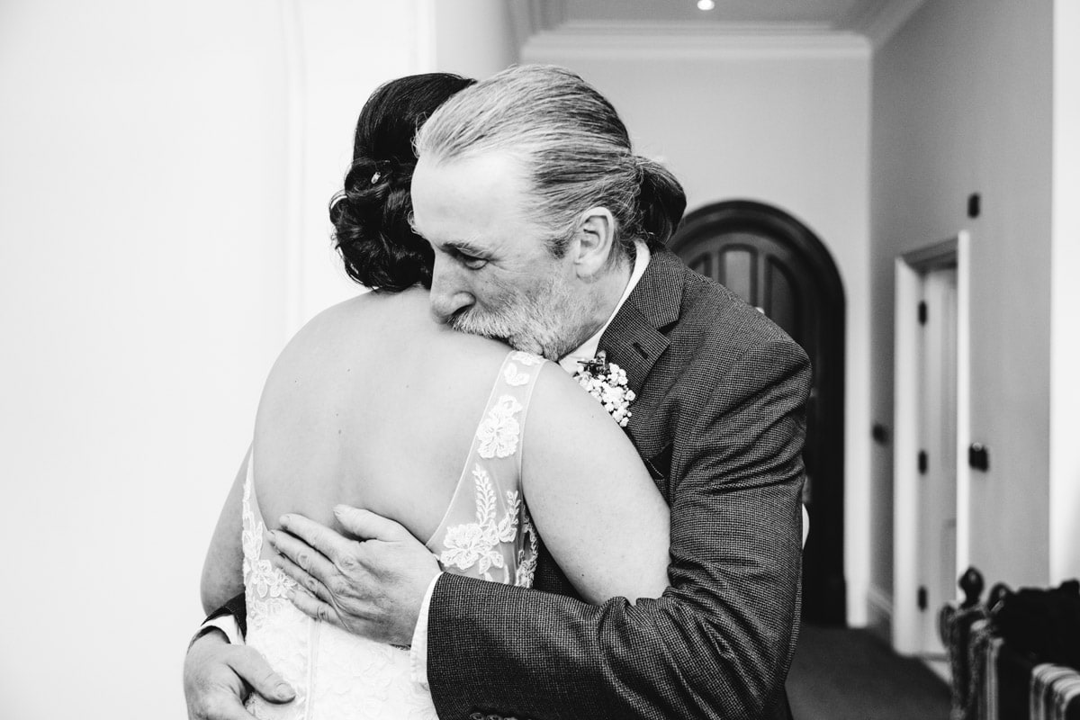 Father of the bride meet for the first time