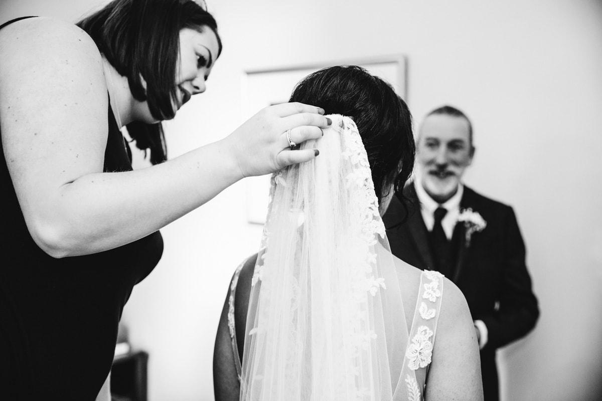 Bridal veil at Rivington Barn
