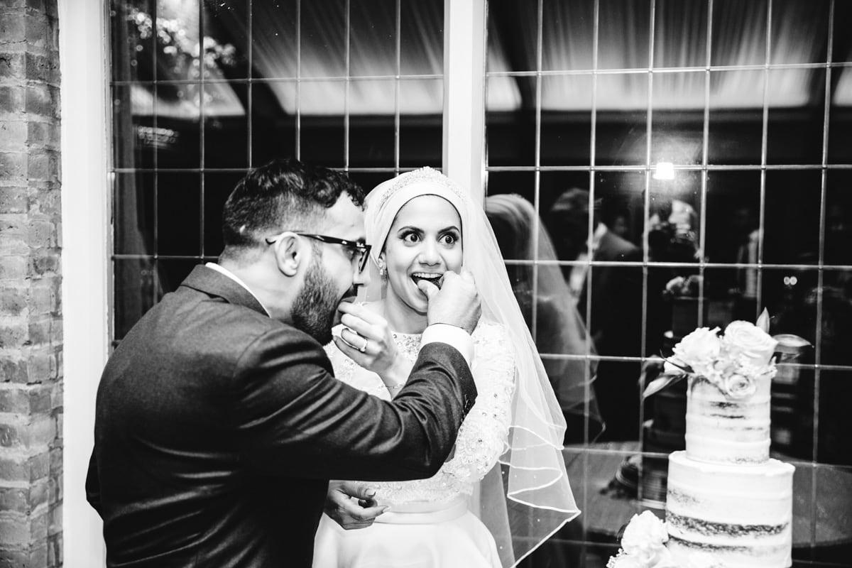 Persian wedding party at colshaw hall
