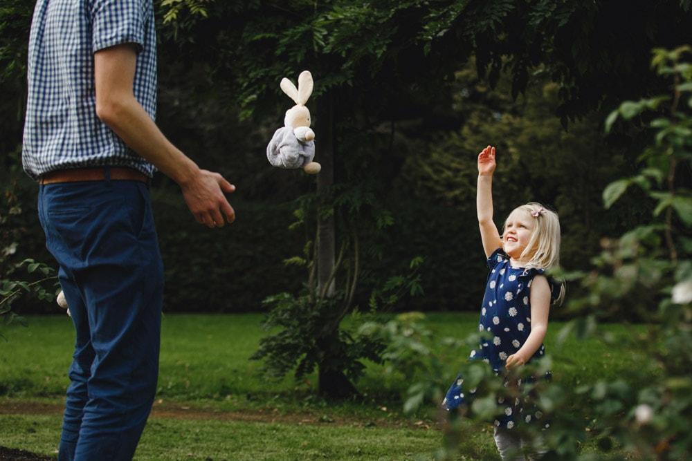 Throwing your teddy bear