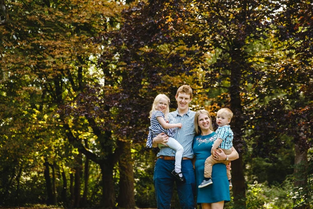 family photoshoot session fletcher moss didsbury manchester