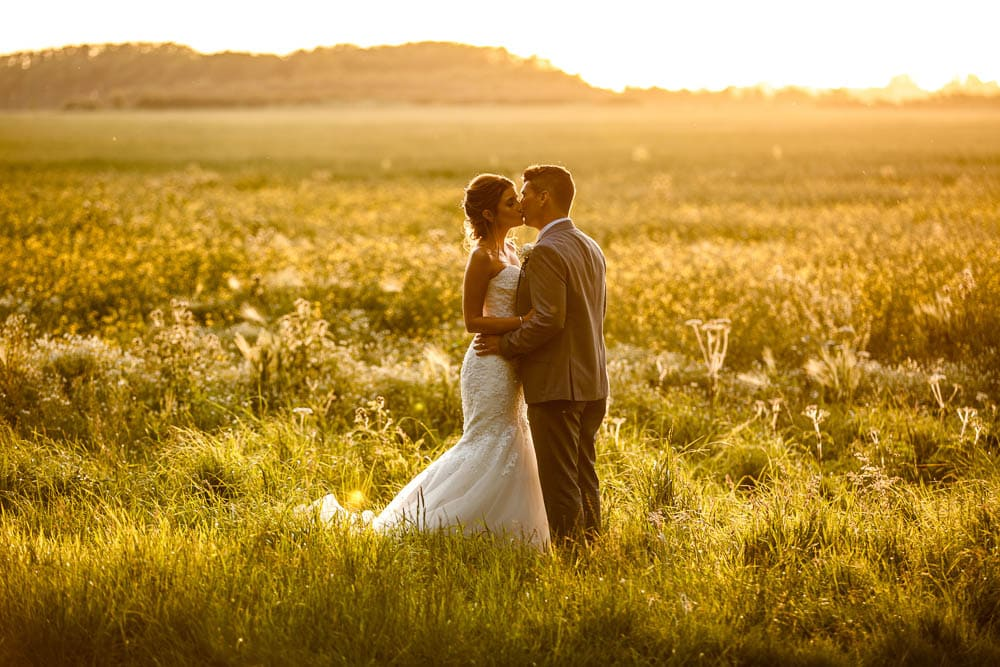Sunset Portfolio Image for Manchester Wedding Photographer