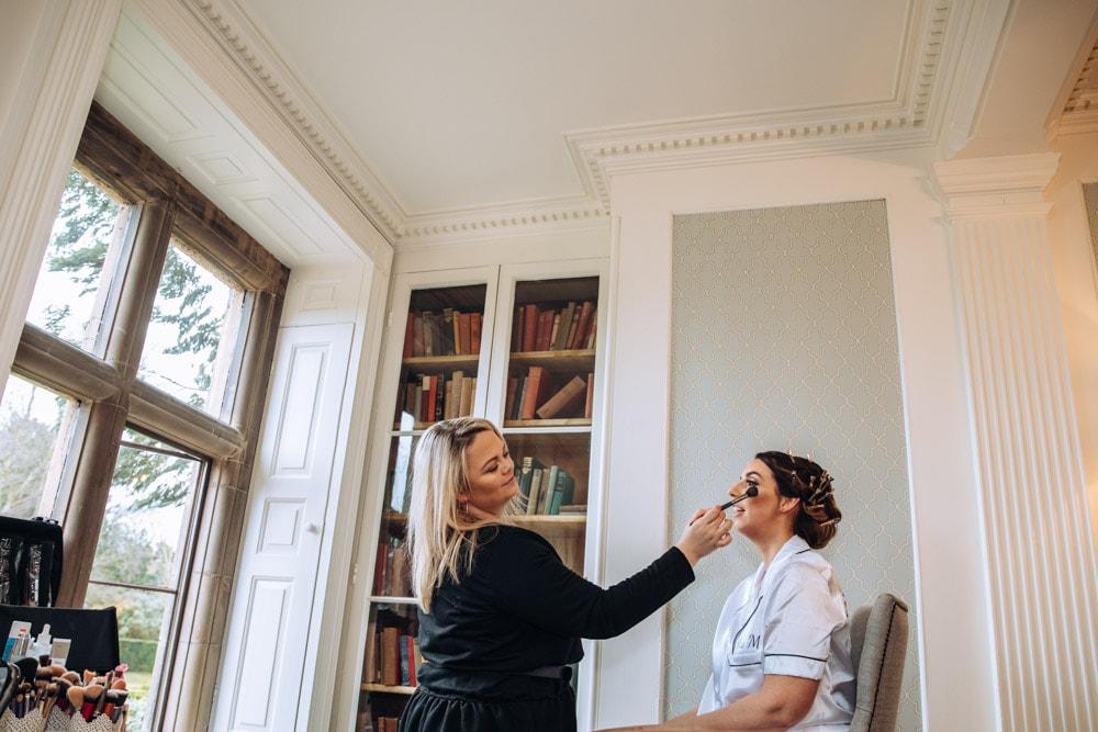 bridal prep at soughton hall