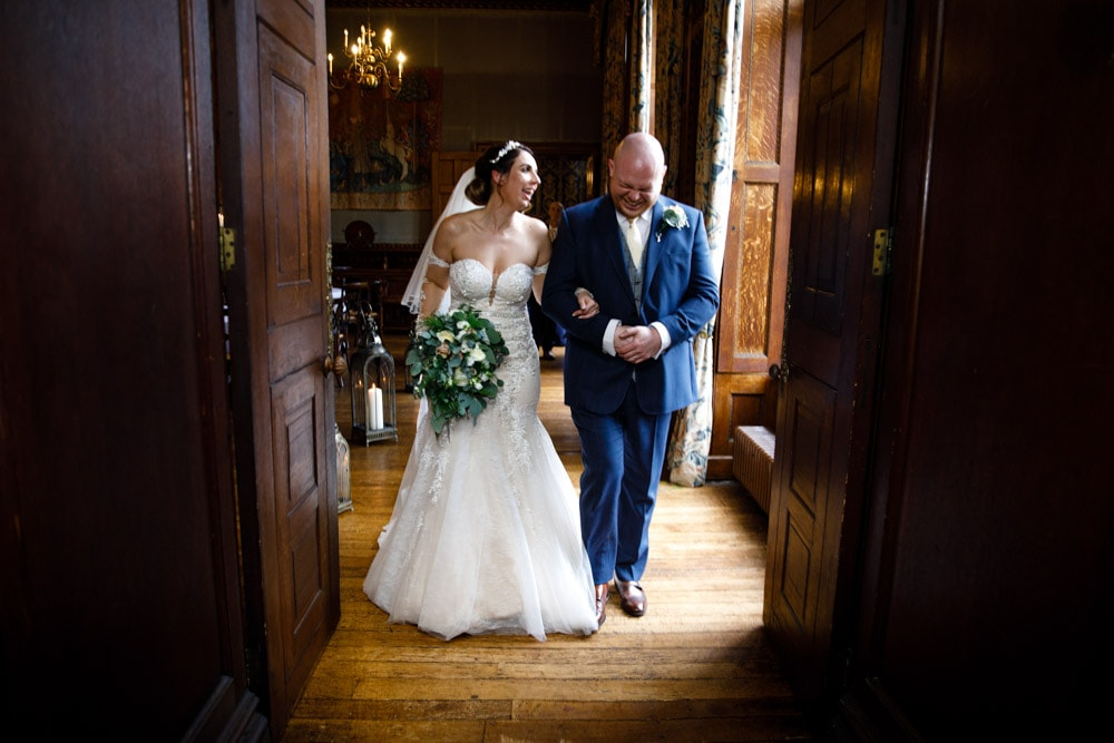 walking out married at soughton hall