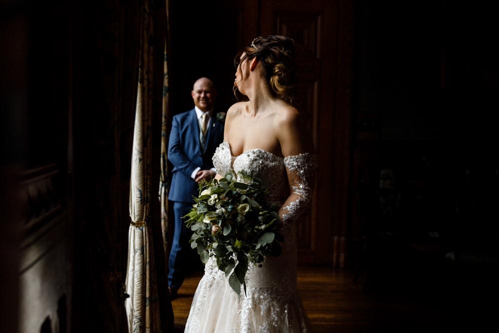 soughton hall wedding photo
