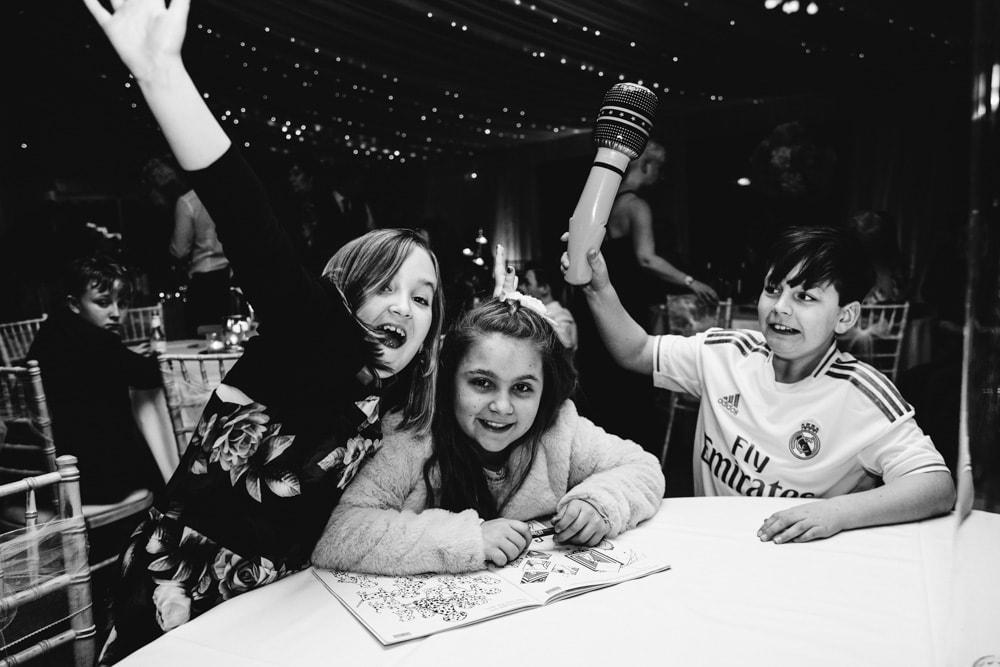 kids having fun at soughton hall