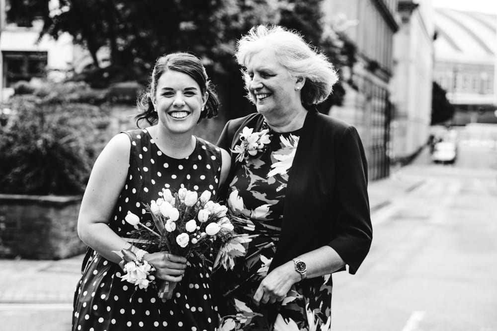 mum and daughter portrait at Heron House Registry Office