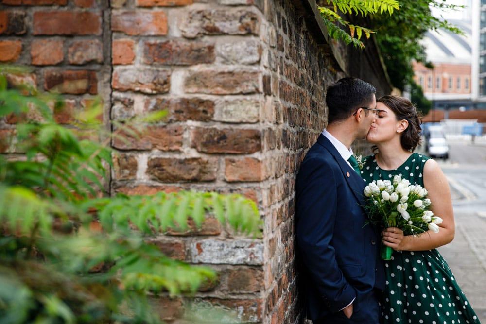 bride and groom Heron House Registry Office