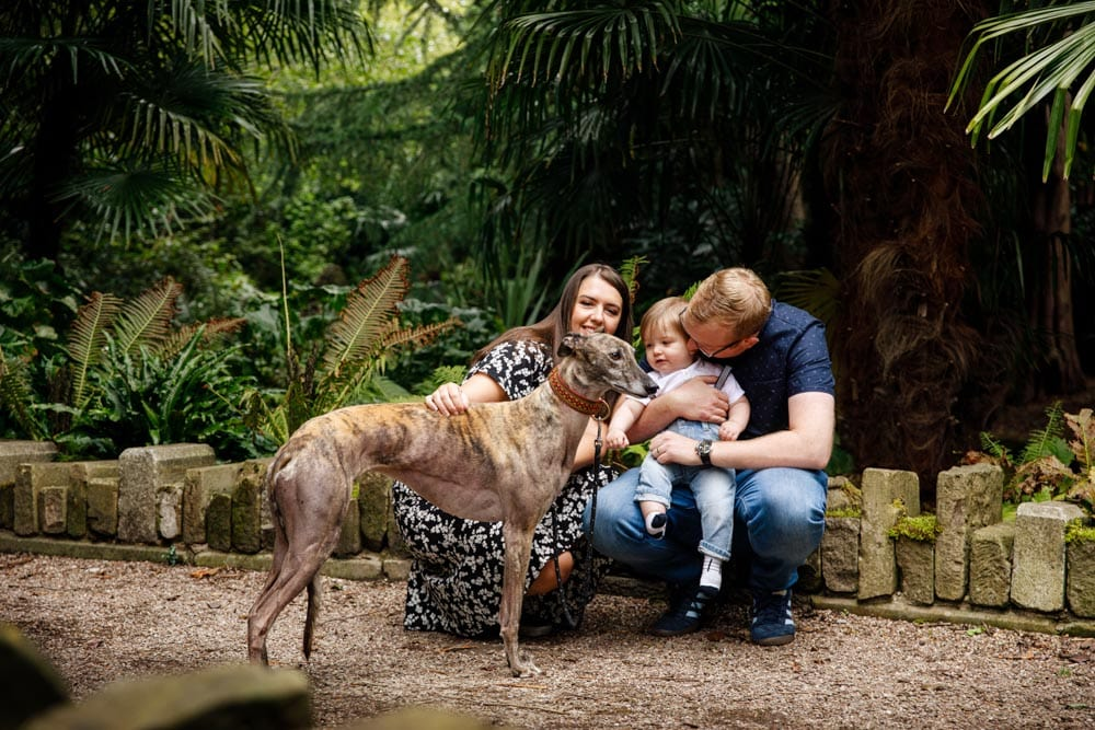 walkden gardens family photography session