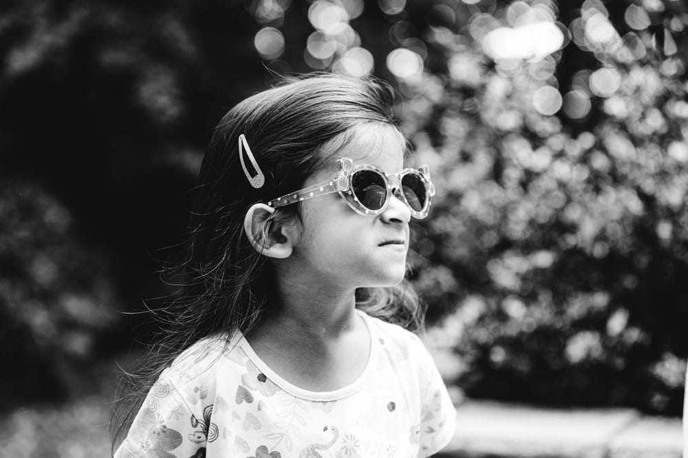 sunglasses looking good on this little girl in worsley