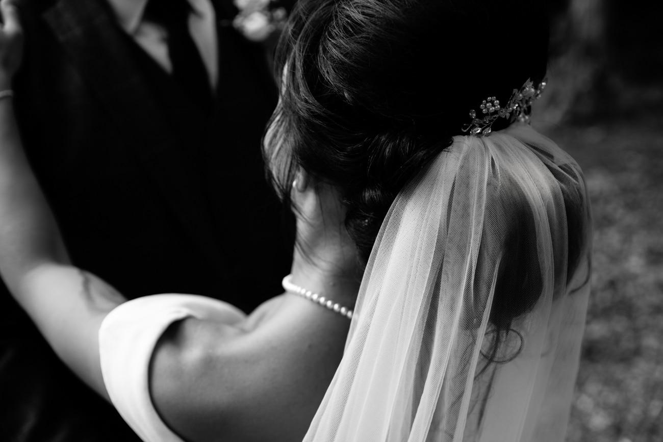 inglewood manor wedding bride detail