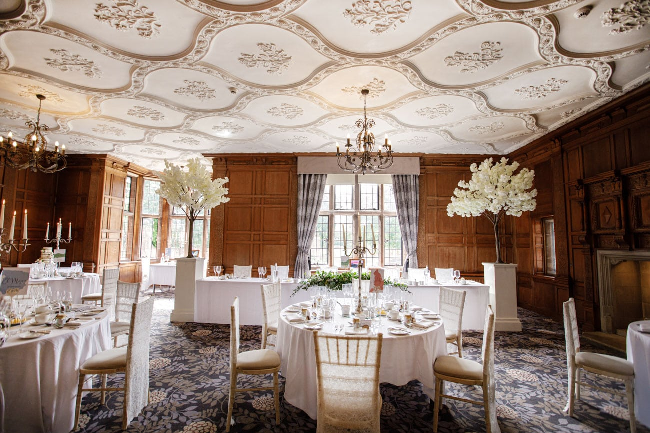 ceiling in dinning space at inglewood manor