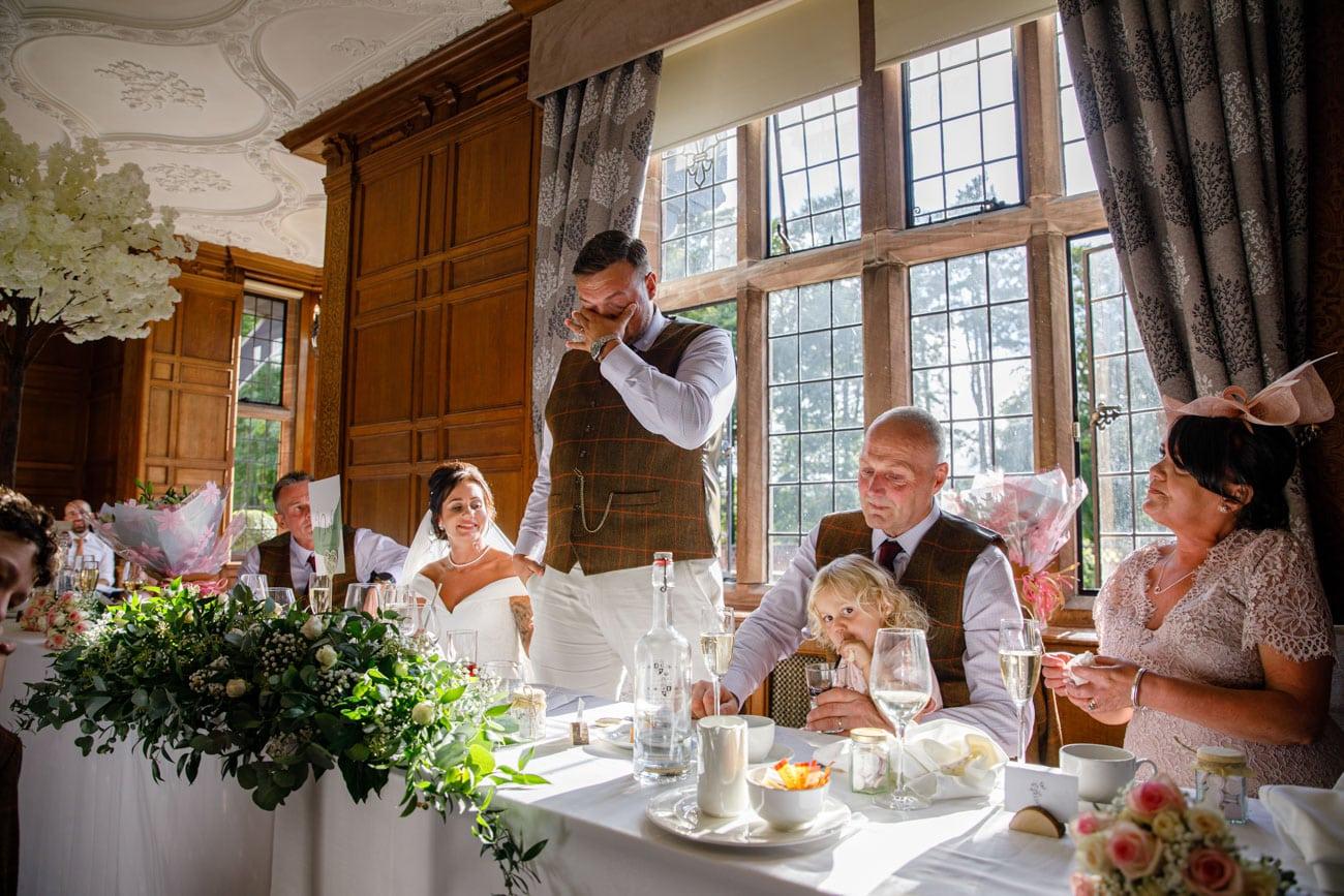 grooms speech at inglewood manor