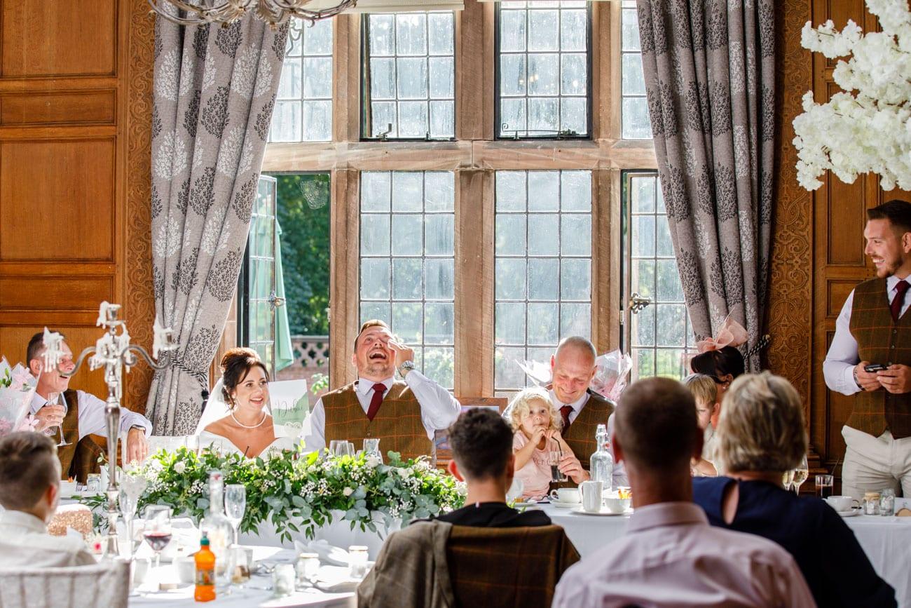 groom during bestman speech inglewood manor