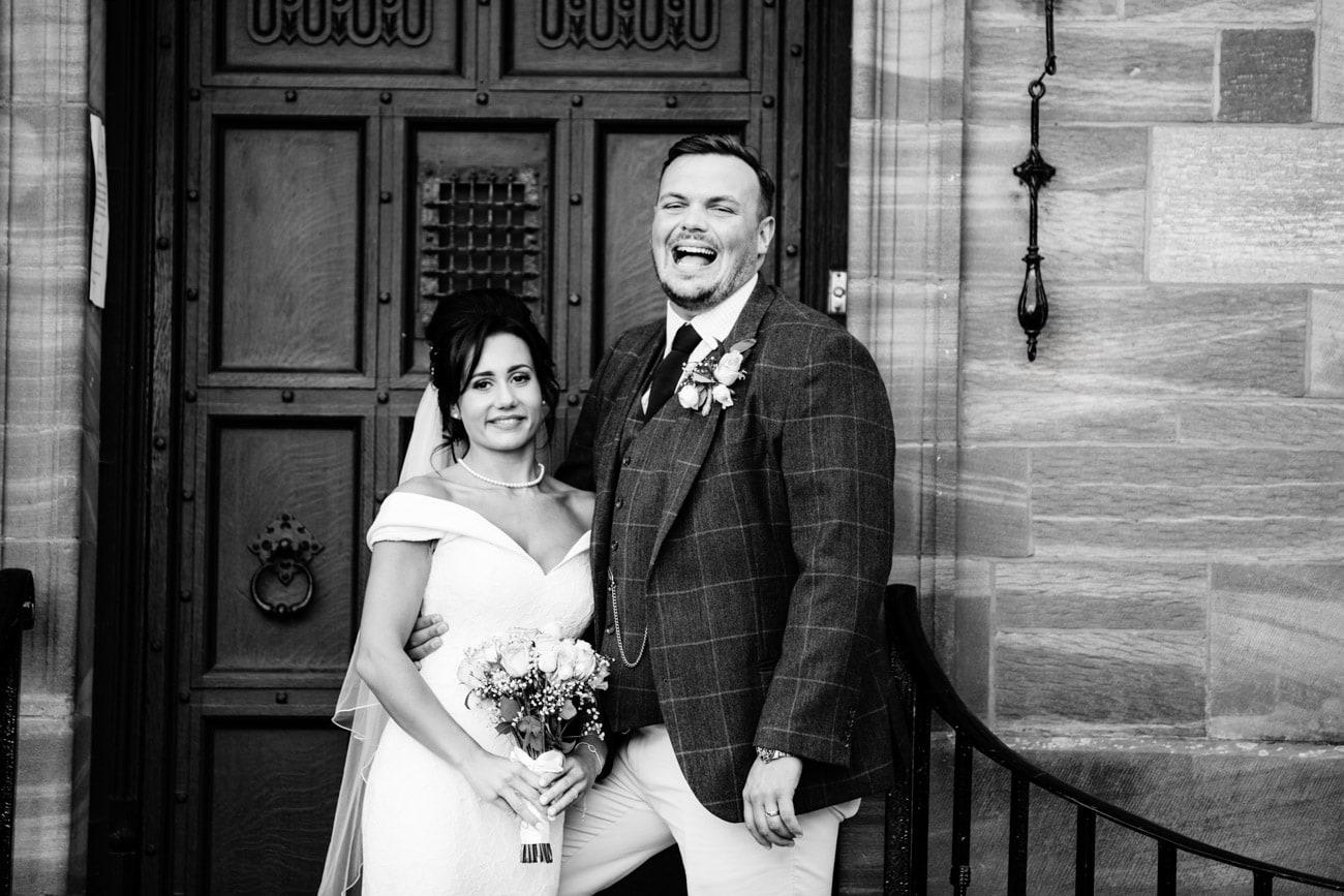 inglewood manor bride and groom