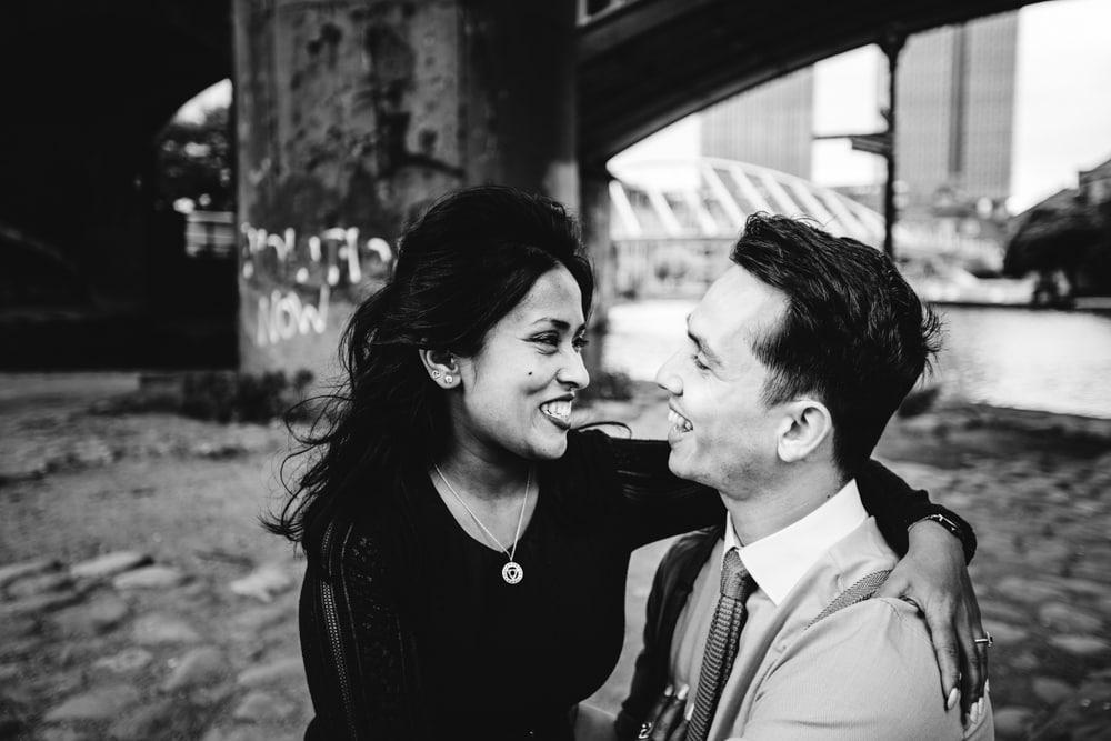 engagement photoshoot manchester