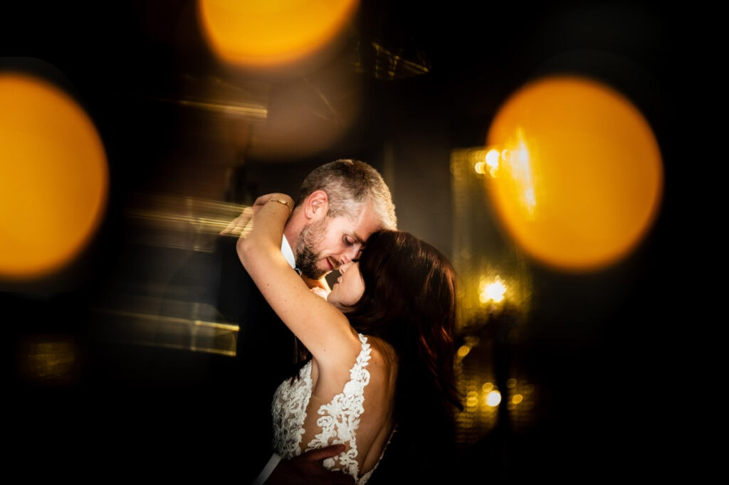 Merrydale Manor 1st Dance Photo with Bride and Groom