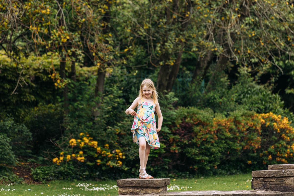 young girl posing for a picture