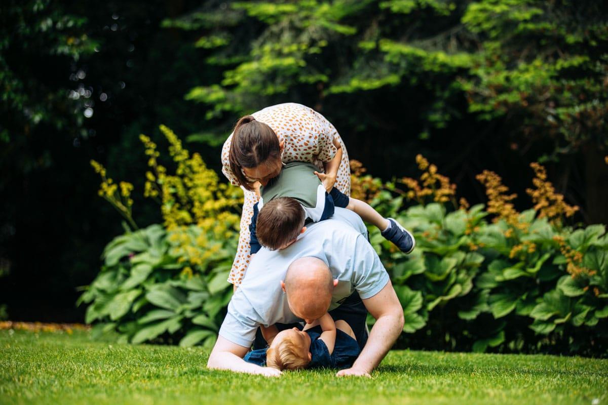 Pile on family fun