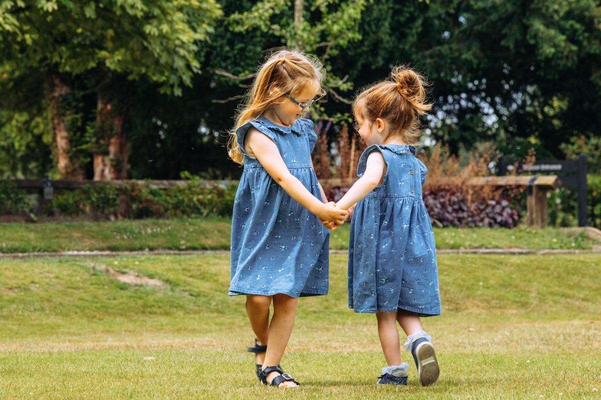 Kids playing at Bramhall Park