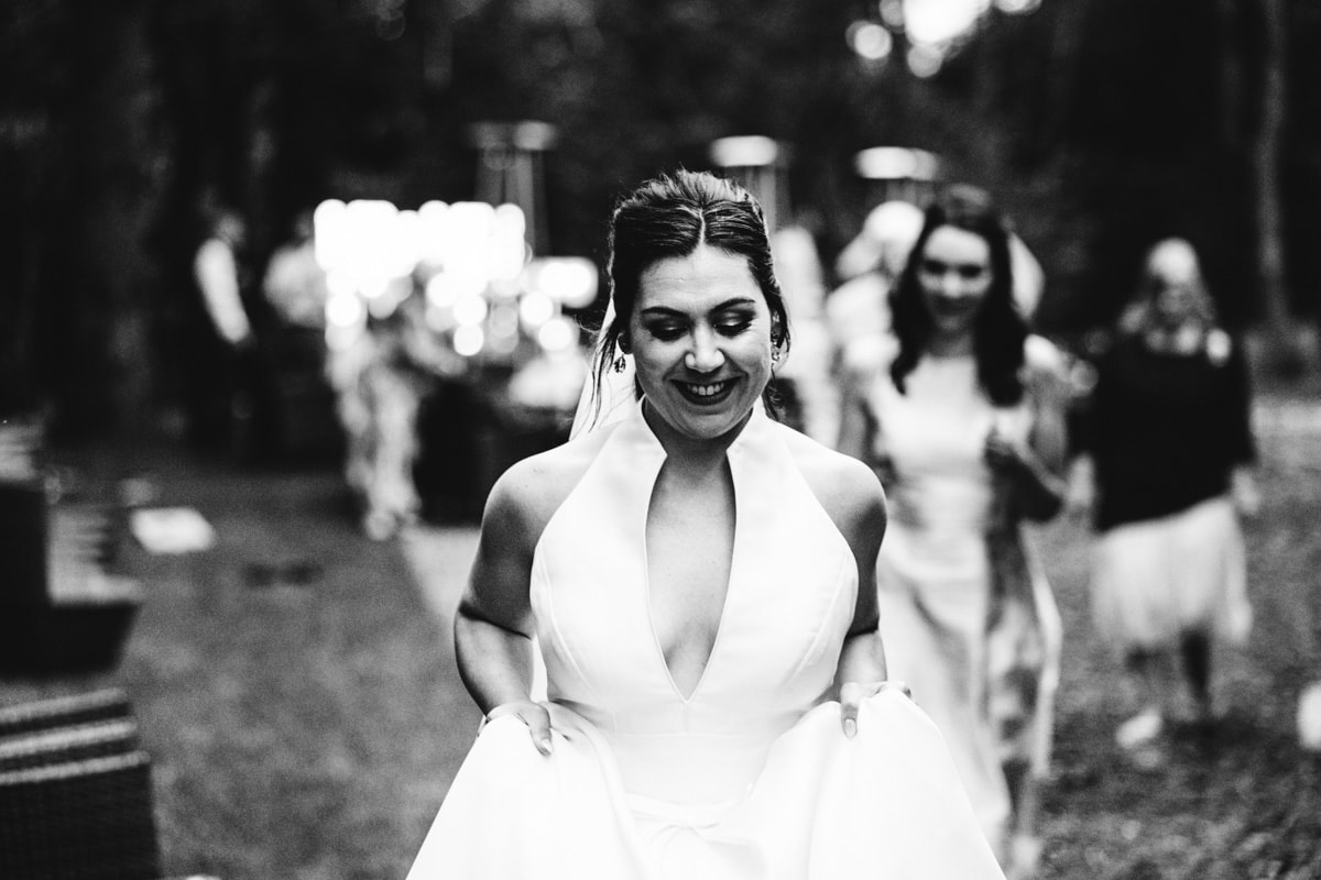 wedding guests dancing at the woodman inn huddersfield wedding photography