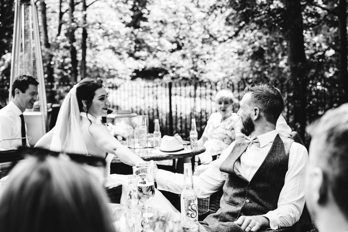 wedding day at the woodman inn